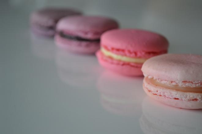Ombré Macarons