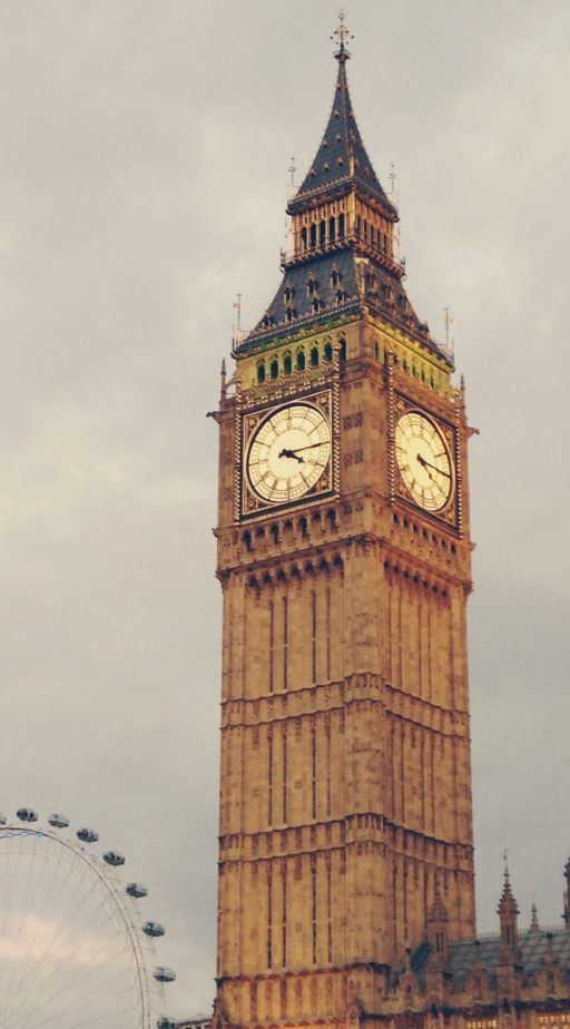 Big Ben via Blushed Tapatia