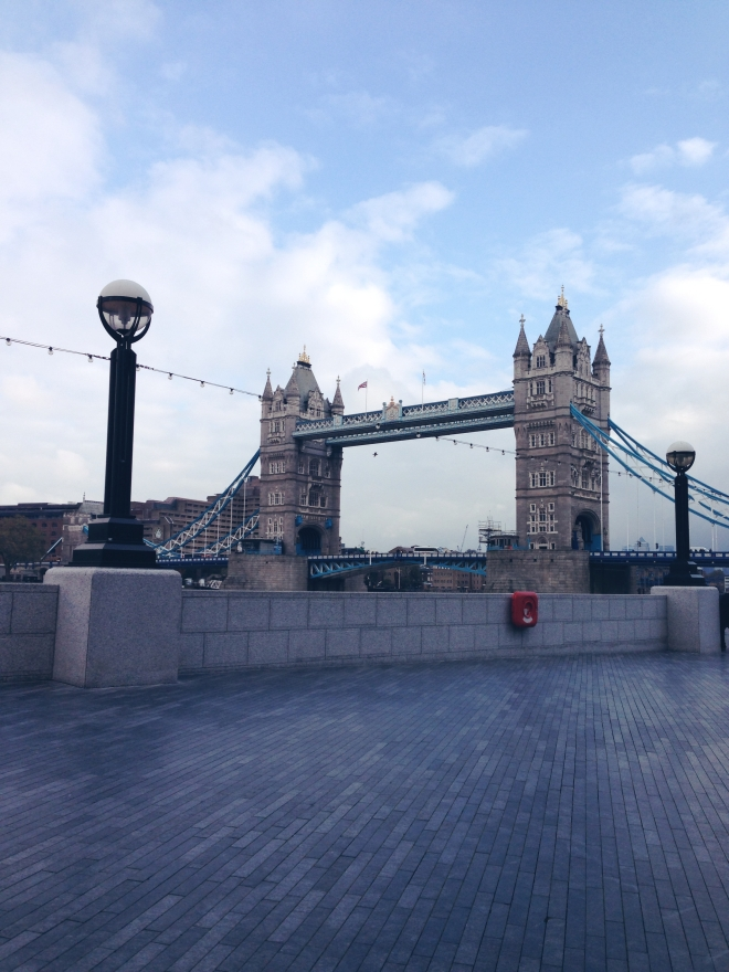 Tower Bridge via Blushed Tapatia