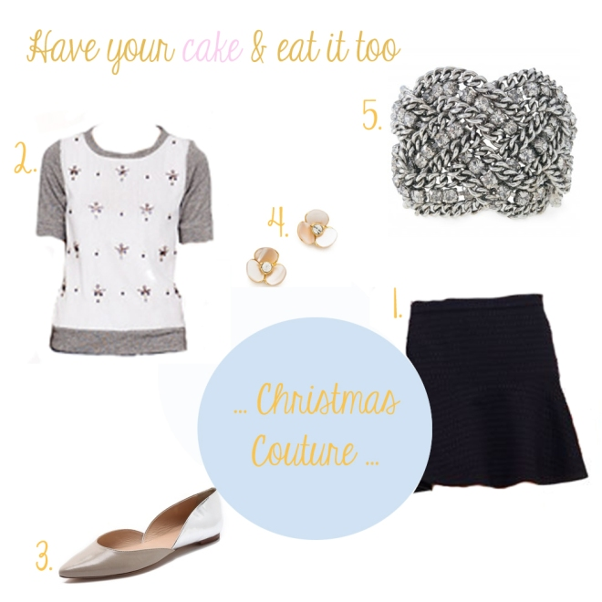 Christmas Couture via Blushed Tapatia