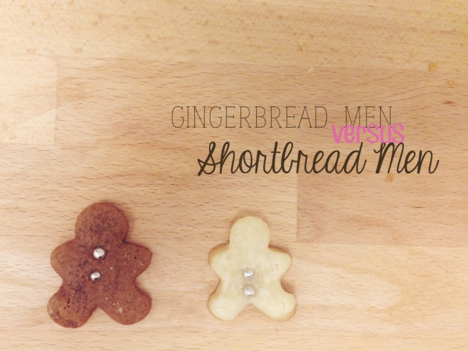 Gingerbread vs shortbread